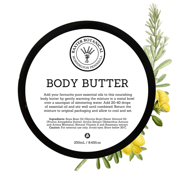 Body Butter Base (250mL)