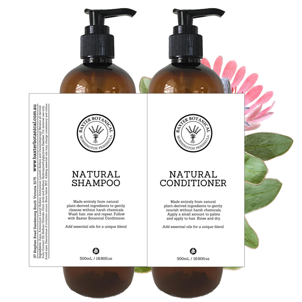 Shampoo and Conditioner Base Set