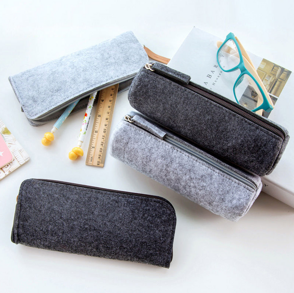 Felt Organiser Case - Light Grey