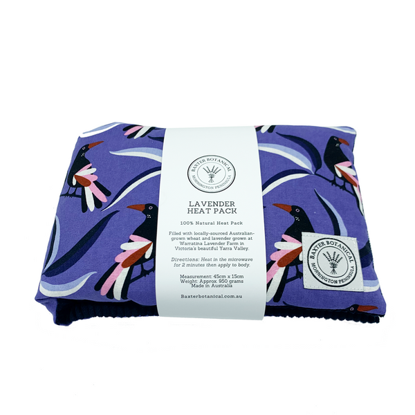 Lavender Heat Pack - Magpies