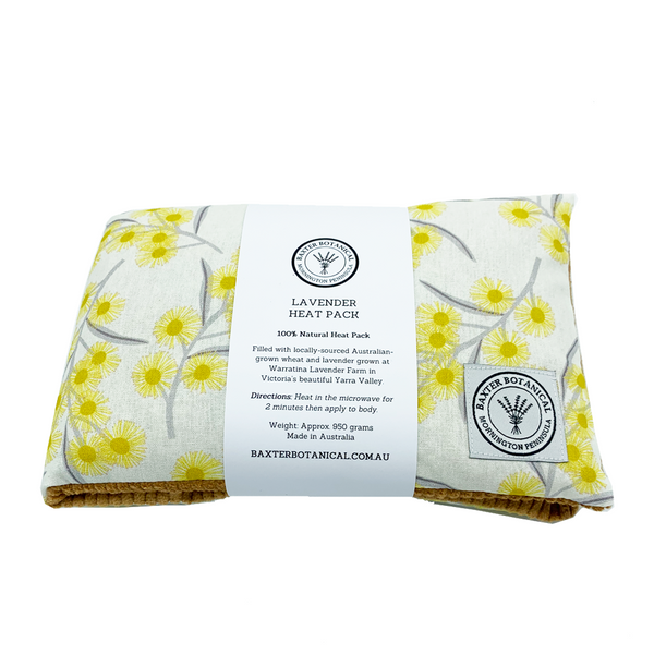 Lavender Heat Pack - Golden Wattle