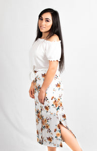 FLORAL BLISS SKIRT - 512 In Style