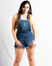 Load image into Gallery viewer, DISTRESS DENIM SHORTS ROMPER - 512 In Style