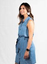 Load image into Gallery viewer, Button Up Denim Dress - 512 In Style