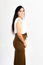 Load image into Gallery viewer, BELTED WAIST WIDE LEG PANTS - 512 In Style