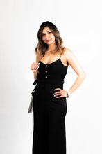 Load image into Gallery viewer, BUTTON UP STRAP JUMPSUIT (KNIT) - 512 In Style