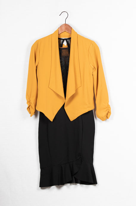 3/4 SLEEVE LIGHT WEIGHT JACKET - 512 In Style