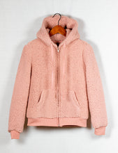 Load image into Gallery viewer, FAUX LAMB ZIP  HOODIE - 512 In Style