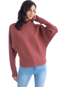 MOCK NECK SWEATER - 512 In Style