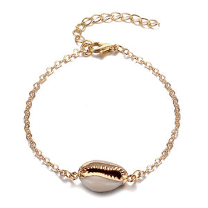 IPARAM Bohemian Shell Map Turtle Bracelet Set 2019 Retro Geometric Statement Female Glamour Fashion Jewelry Jewelry Gift - 512 In Style