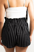 Load image into Gallery viewer, PIN STRIPE BELTED MINI SHORTS - 512 In Style