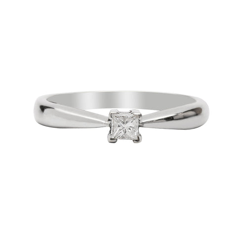 Anillo de compromiso 0.17ct I/VS1