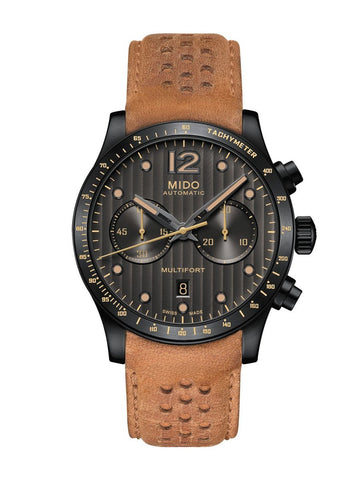 Mido Multifort chronograph adventure (M0256273606110) - Eternity Diamonds anillos relojes aretes