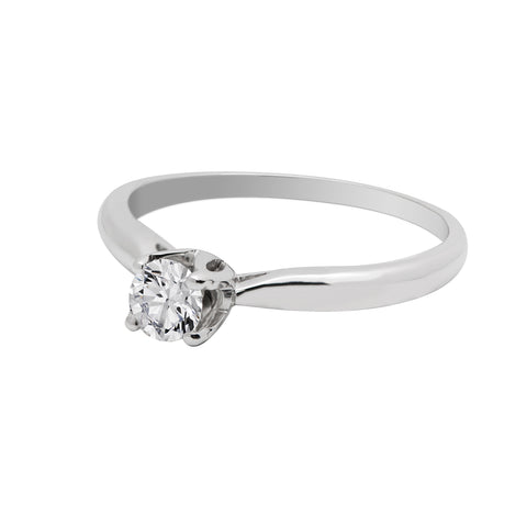 Anillo de compromiso 0.23ct I/SI1 - Eternity Diamonds