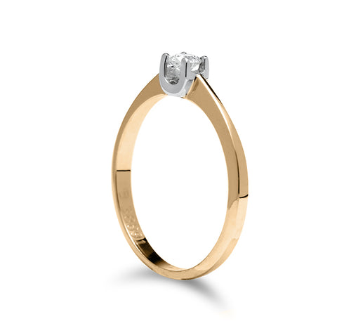 "Anillo de compromiso ""Marit"" 0.14ct - Eternity Diamonds"
