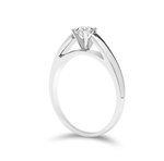 Anillo solitario 0.22ct I/VS1