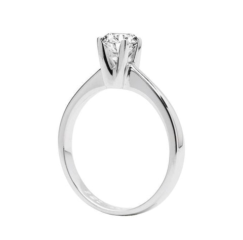 Anillo de compromiso 0.50CT E/VS1