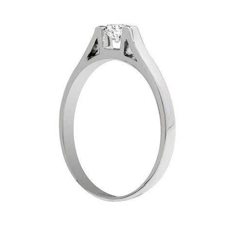 Anillo de compromiso 0.20ct I/SI1 - Eternity Diamonds