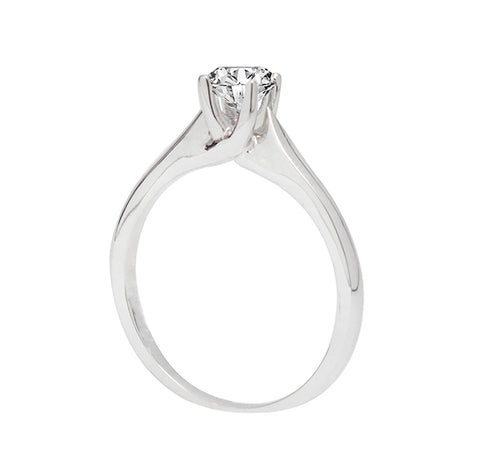 "Anillo de compromiso ""Elizabeth"" 0.16ct I/SI1 - Eternity Diamonds"