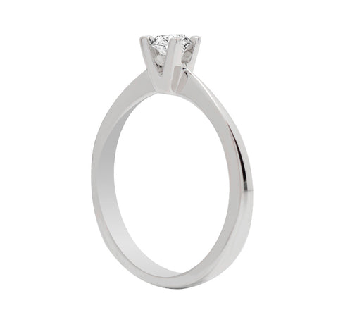 "Anillo de compromiso ""Tatiana"" 0.16ct H/SI1 - Eternity Diamonds"