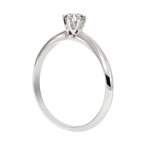 "Anillo de compromiso ""Helena"" 0.16ct I/SI1 - Eternity Diamonds"