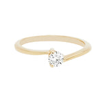 Anillo de compromiso 0.22CT I/SI1 - Eternity Diamonds