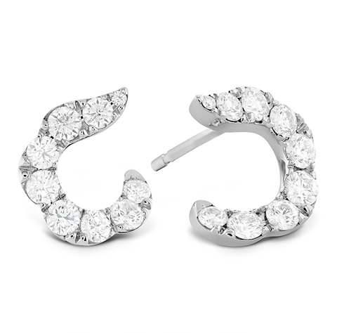 Aretes Lorelei crescent HOF - Eternity Diamonds anillos relojes aretes
