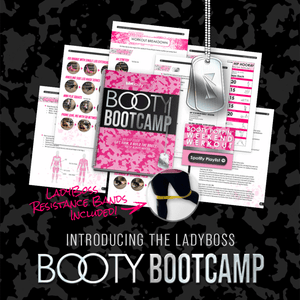 LadyBoss Booty Bootcamp With Resistance Bands