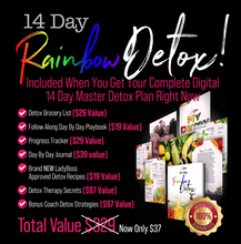 Load image into Gallery viewer, LADYBOSS RAINBOW DETOX