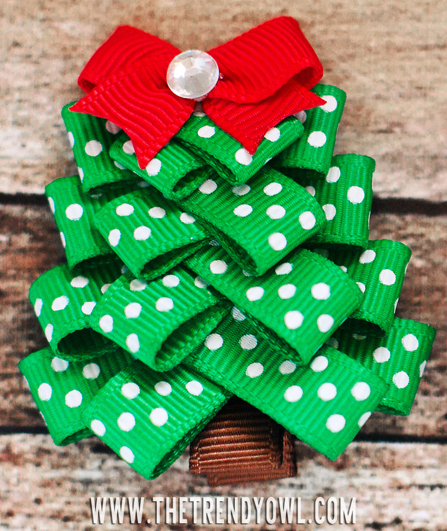 TUTORIAL: Christmas Tree Clippies!!