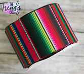 "3"" Traditional Serape - Heat Transfer - BY THE YARD"