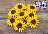 Sunflower Felt Centers - 1pc.