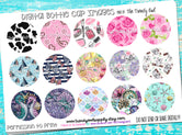 "M2M Ribbon Prints Mix - 1"" Bottle Cap Images - INSTANT DOWNLOAD"