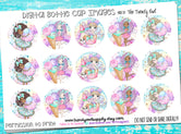 "**FREEBIE FRIDAY** Sugar Rush - 1"" Bottle Cap Images - INSTANT DOWNLOAD"