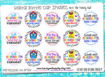 "Kindergarten! - Back To School Themed - 1"" Bottle Cap Images - INSTANT DOWNLOAD"
