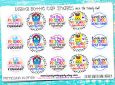 "Preschool! - Back To School Themed - 1"" Bottle Cap Images - INSTANT DOWNLOAD"