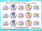 "1st Grade! - Back To School Themed - 1"" Bottle Cap Images - INSTANT DOWNLOAD"