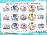 "3rd Grade! - Back To School Themed - 1"" Bottle Cap Images - INSTANT DOWNLOAD"