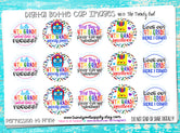 "4th Grade! - Back To School Themed - 1"" Bottle Cap Images - INSTANT DOWNLOAD"