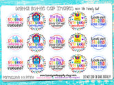"5th Grade! - Back To School Themed - 1"" Bottle Cap Images - INSTANT DOWNLOAD"
