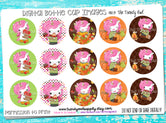 "Fall Unicorns - 1"" Bottle Cap Images - INSTANT DOWNLOAD"
