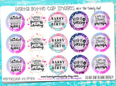 "Sassy Quotes/Sayings - 1"" Bottle Cap Images - INSTANT DOWNLOAD"