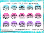 "Princess Quotes/Sayings - 1"" Bottle Cap Images - INSTANT DOWNLOAD"