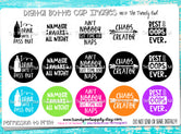 """Baby Quotes pt.1""  - 1"" Bottle Cap Images - INSTANT DOWNLOAD"