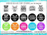 """Baby Quotes pt.2""  - 1"" Bottle Cap Images - INSTANT DOWNLOAD"