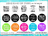 """Sayings/Quotes pt.1""  - 1"" Bottle Cap Images - INSTANT DOWNLOAD"