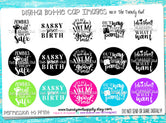 """Sayings/Quotes pt.2""  - 1"" Bottle Cap Images - INSTANT DOWNLOAD"