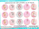 "Tiny Dancer/Ballet Bunny + Unicorn - 1"" Bottle Cap Images - INSTANT DOWNLOAD"
