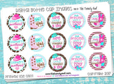 "Cutest Little Cowgirl, ""BOOT-iful"" - 1"" Bottle Cap Images - INSTANT DOWNLOAD"