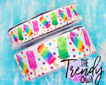 "7/8"" & 1.5"" Popsicles!! - Heat Transfer Printed - 3yd cuts"